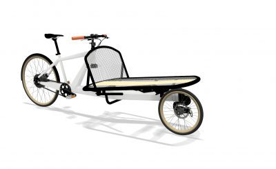 VeloSled two-wheeled cargo bike